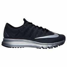 NEW MENS NIKE AIR MAX 2016 PREMIUM BLACK SILVER RUNNING SHOES RETAIL $225 s