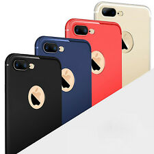 Shockproof Ultra-Thin Slim Silicone Soft TPU Back Case Cover For iPhon