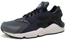 Nike Air Huarache Run PRM Men Size Premium Running Shoes Grey Black 704830 007