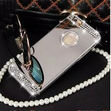Luxury Mirror Bling Crystal Hard Back Case Cover For Apple iPhone 6s 6