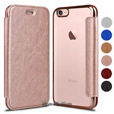 Armor Shockproof Flip Leather Wallet Card Hard Case Cover For iPhone 6