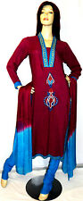Designer shalwar kameez eid salwar pakistani indian sari abaya churidar uk 10