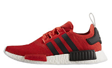 EXCLUSIVE ADIDAS NMD RUNNER R1 RED BLACK IN ALL SIZES