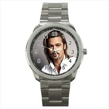 Brad Pitt Causal Sports Watch (Quartz)