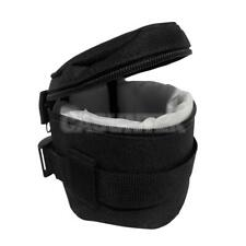Waterproof DSLR Camera Lens Soft Protector Carry Pouch Bag Case Size XS-XXL