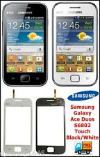 Samsung Galaxy Ace Duos S6802 Touch Screen Digitizer Front Glass Replacement