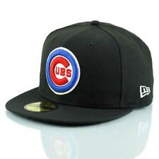 New Era Chicago Cubs Logo 59FIFTY Fitted MLB Gorra Negra