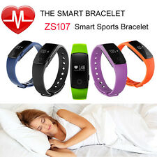 Smart Watch ID107 Bluetooth Heart Rate Monitor Sport Fitness Tracker Pedemeter