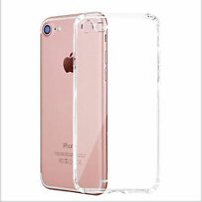 Ultra Slim Soft TPU Silicone Clear Shockproof Case Cover For iPhone 7