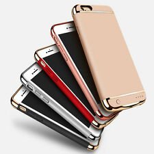 New External Phone Battery Charger Cases Power Bank Case Cover For iPhone 7 Plus