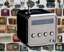 Little Cube Radio preloaded with 5,000+ old time radio OTR shows Time Traveler