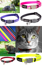 ROGZ ALLEYCAT CAT COLLAR WITH BREAKAWAY BUCKLE AND NIGHT TIME VISABILITY