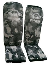 Martial Arts Armory Shin Guards - Youth & Adult - Camo