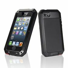 LunaTik Taktik caso para Apple iPhone 5/6/7 Negro Blanco ANTIGOLPES Gorila