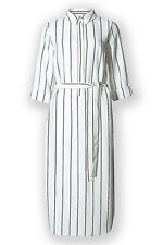 Marks and Spencer Striped Summer Shirt Dress Ladies NEW