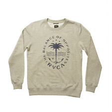 RVCA ANCHOR PALM Sweater 2017 athletic heather Pullover