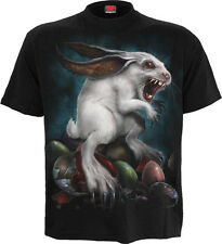 Spiral Direct NEW RABBIT HOLE T-SHIRT/Bunny/Easter Egg/Horror/Rock/Darkwear/Top