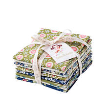 Tilda Pardon My Garden Stoffe Fat Eighths & Fat Quarter Bundle 27x50 & 50x55 cm