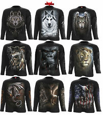 Spiral Direct Wolf/Loin/Gorille/Sauvage/Tigre/Aigle/Musique/Manches Longues