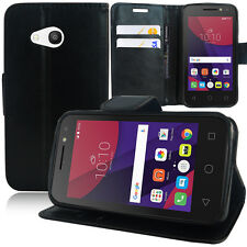 Portfolio Di Custodia Cover Guscio Supporto Video Falda per Alcatel Pixi 4 4 4.0