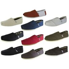 Toms Mens Classic Canvas Slip On Casual Loafer Shoe
