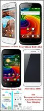 Micromax A47 A62 A68 A068 HD Transparent Screen Guard Protector - Free Shipping
