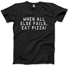 When All Else Fails Eat Pizza - Funny Food Kids T-Shirt