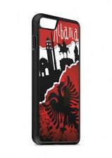 iPhone ALBANIA CALCIO BANDIERA silicone custodia flip Custodia cover