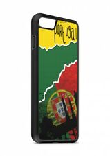 iPhone PORTOGALLO CALCIO BANDIERA silicone custodia flip Custodia cover