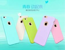 Apple iPhone 6Plus 6sPlus Macaroon Candy Ultra Thin Soft Cover Case