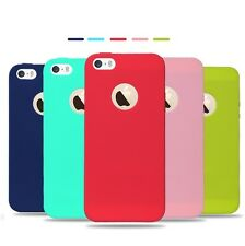 Apple iPhone 5 5s SE Macaroon Candy Ultra Thin Soft Cover Case