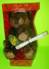 Millennium 2000 Original Teddy Bear With Tags/Certificate Plush Collectable! NEW