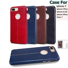 Luxury Genuine Leather Ultra-thin Slim Back Case Cover For iPhone 6 6S