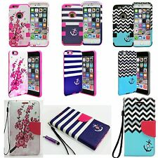 Shockproof Rubber Hybrid Fashion Hard Case Thin Cover For Apple iPhone