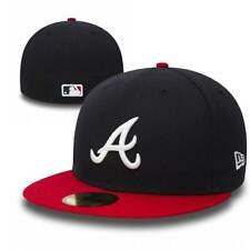 New Era Atlanta Braves 59FIFTY TSF Fitted MLB Cap Home
