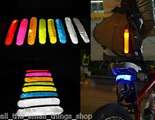 LED LUZ INTERMITENTE REFLECTANTE MANGUITOS ALTA VISIBILIDAD CICLISMO
