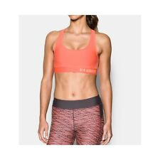 TOP SPORTIVO UNDER ARMOUR 1276503 CROSS-BACK PADDED  ARANCIONE