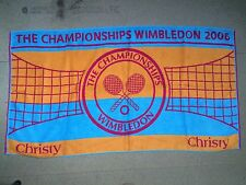 WIMBLEDON Official Ladies Championship Towel, 2006 Edition By Christy BNWT