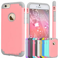 Luxury Shockproof Rugged Rubber Hard Case Cover For  iPhone 6 6S 7 7pl