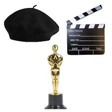 Hollywood Trofeo Claqueta Board Sombrero Vintage Película Director INSTANTE Kit