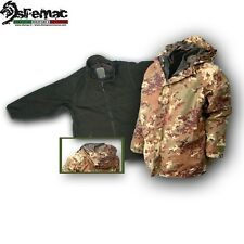 PATTON PARKA ESERCITO CON PILE INTERNO