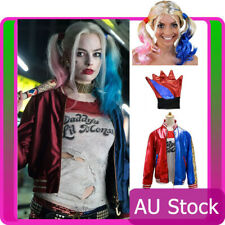 Ladies Harley Quinn Harleyquinn Suicide Squad Halloween Party Costume Full Set