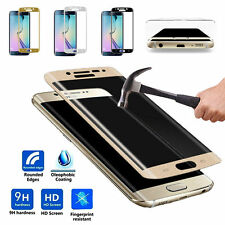 Samsung Galaxy S6 Edge 3D CURVED Tempered Glass Screen Protector