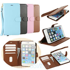 2017Luxury Magnetic Cover Stand Wallet Leather Case For Apple iPhone 6