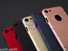 Net Mesh Hard Back Shell Case Cover For Apple iPhone 7 4.7""