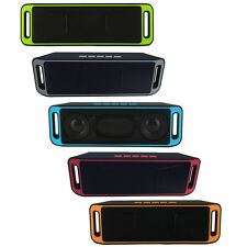 Wireless Bluetooth Mini Altoparlante Portatile Stereo Subwoofer TF USB Radio