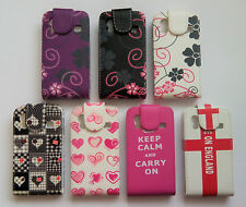 Flip Leather Pattern Case Cover For Samsung Galaxy Ace - s5830