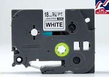 1-30x 18mm TZE 241, TZ 241 tape black/white for BROTHER P-TOUCH label printers