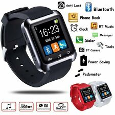 u80 DZ09 Bluetooth Smart Watch Contapassi FORMA FISICA PER IOS ANDROID IPHONE