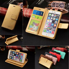 Luxury Leather Magnetic Flip Wallet Card Case Cover For Apple iPhone 6